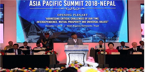 Asia-Pacific Summit 2018 in Nepal