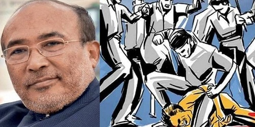 CM N.Biren Singh passed anti-mob violence bill