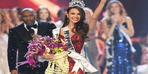 Catriona Elisa Gray from Philippines bags Miss Universe 2018