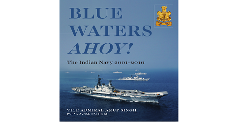 Chief of the Naval Staff Admiral Sunil Lamba, released a book titled 'Blue Waters Ahoy!'- chronicling the Indian Navy's history from 2001-2010.