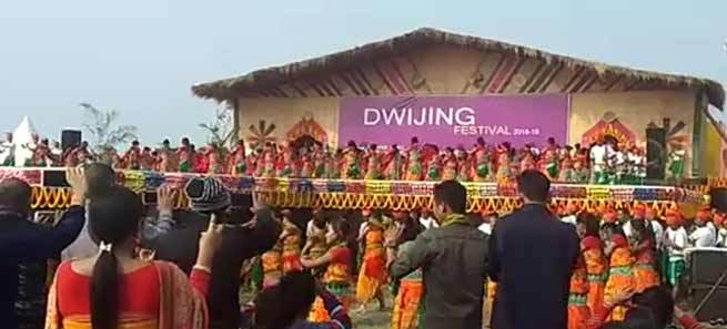 Dwijing Festival celebrated in Assam