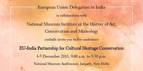 EU and India for Cultural Heritage Conservation held in New Delhi