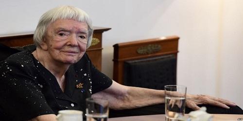 Ex-Soviet Dissident Lyudmila Alexeyeva