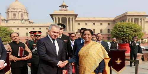 India-Russia Inter-Governmental Commission on Military Technical Cooperation (IRIGC-MTC) held in New Delhi