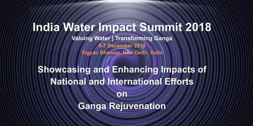 India Water Impact Summit-2018 held in New Delhi