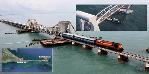 India's first lift bridge, worth Rs.250 crores, to reconnect Rameswaram with mainland India in 4 years: Railway Ministry