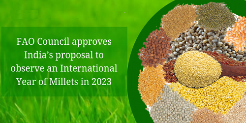 International Year of Millets in 2023