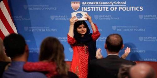 Malala Yousafzai won 2018 Gleitsman Award by Harvard University