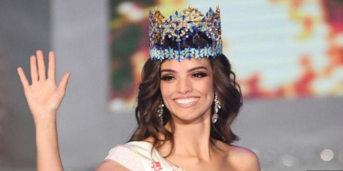 Mexico's Vanessa Poncede Leon wins Miss World 2018 crown at grand event held in China's Sanya