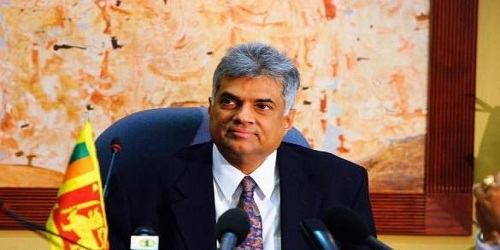 Ranil Wickremesinghe sworn in as PM of Sri Lanka