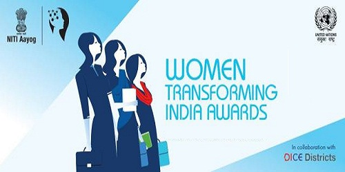 Third Edition of the Women Transforming India Awards