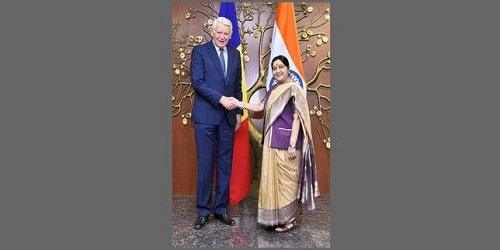 Visit of Romanian Foreign Minister H.E. Mr. Teodor Melescanu to India