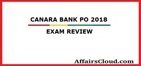 canara-exam-review