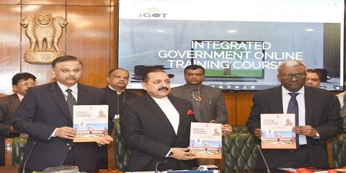 iGOT and RTI Portal on Judgments launched by MOS(PP) Dr. Jitendra Singh in New Delhi