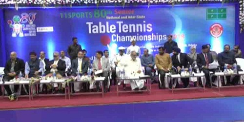 80th National Table Tennis Championship begins in Cuttack