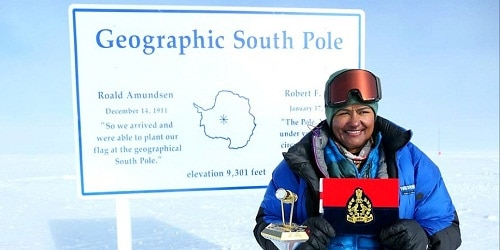 Aparna kumar First female IPS to reach the south pole