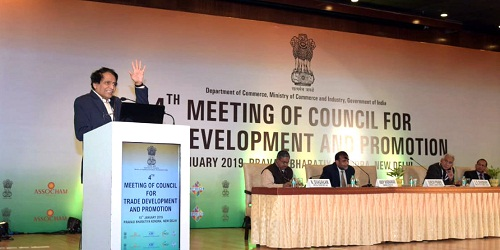 Council for Trade Development and Promotion (CTDP) held in New Delhi