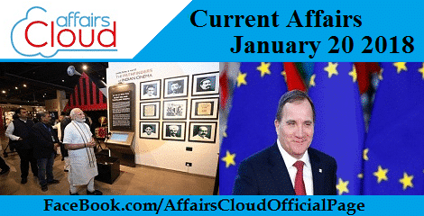 Current Affairs January 20 2018