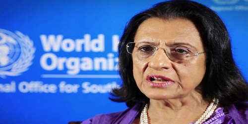 Dr Poonam Khetrapal Singh reappointed as Regional Director WHO SOUTH EAST Asia