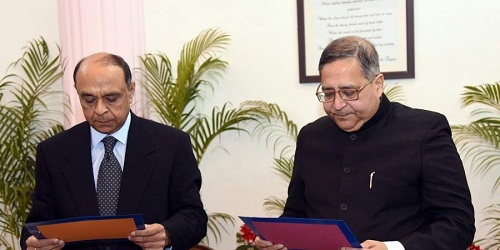 Dr. T.C.A Anant takes Oath as Member, UPSC