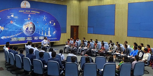 ISRO launches 'Samwad' with students