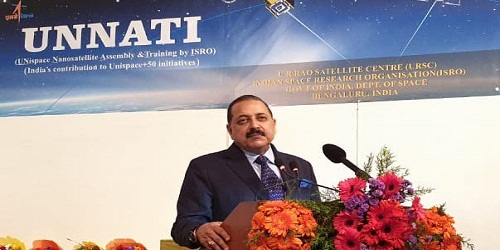 ISRO's UNNATI programme inaugurated by MoS DoS Dr. Jitendra Singh in Bengaluru
