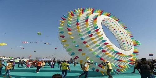 International Kite Festival kicks off in Ahmedabad