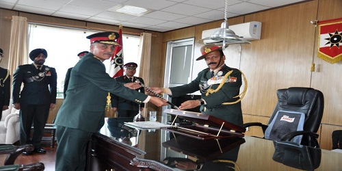 J S Nain took over as 14th Commander of Army's Rising Star Corps