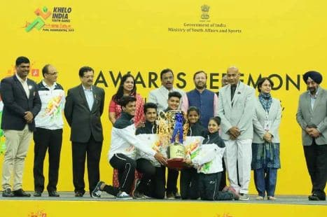 Khelo India Youth Games Hosts Maharashtra finish top with 228 medals