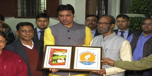 Logo for Tripura tea unveiled