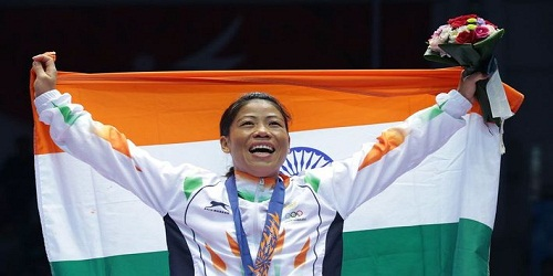 Mary Kom attained number one position in AIBA rankings