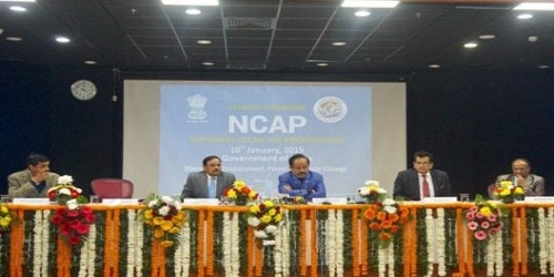 National Clean Air Programme (NCAP) launched by Environment minister