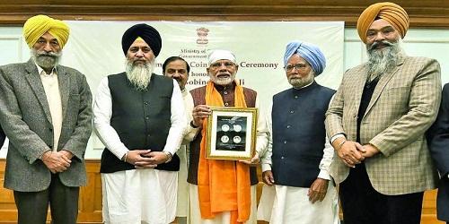 PM released commemorative coin on Sikh Guru Gobind Singh in New Delhi