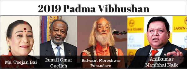 Padma Vibhushan 2019