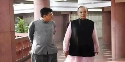 Piyush Goyal named interim Finance & Corporate Affairs minister