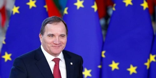 Prime Minister Stefan Lofven has been elected for a second term