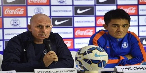 Stephen Constantine steps down as coach of Indian football tea