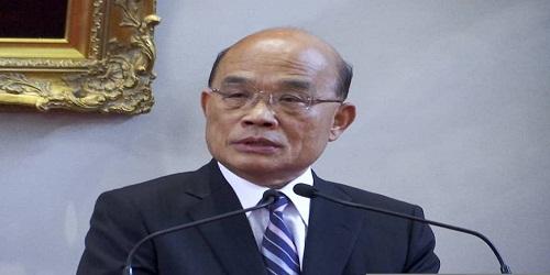 Su Tseng-chang appointed as Taiwan PM