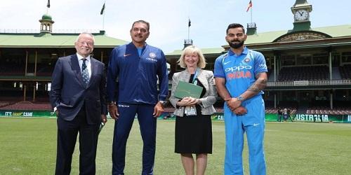 Virat Kohli and Ravi Shastri received honorary membership of Sydney Cricket Ground