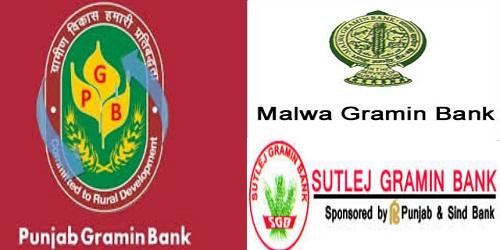 three Regional Rural Banks-Punjab Gramin Bank, Malwa Gramin Bank and Sutlej Gramin Bank into a single Bank