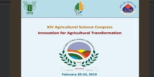 14th Agricultural Science Congress held at New Delhi