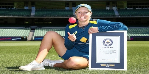 Alyssa Healy, sets Guinness World Record at MCG