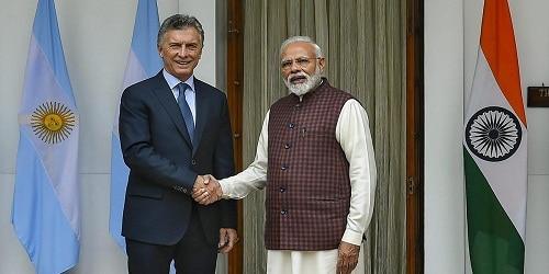 Argentina's President Mauricio Macri 3-day visit to India