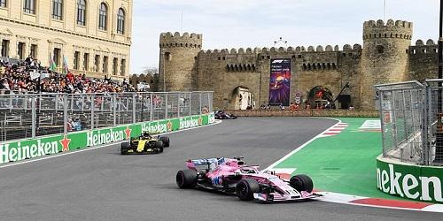 Azerbaijan Grand Prix extends F1 deal to 2023