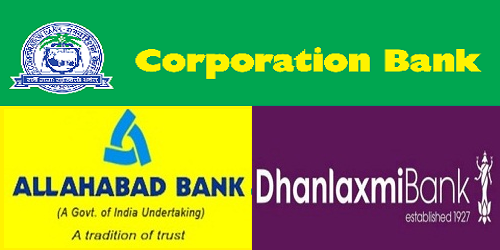 Corporation bank, Allahabad Bank and Dhanlaxmi bank are out of PCA framework
