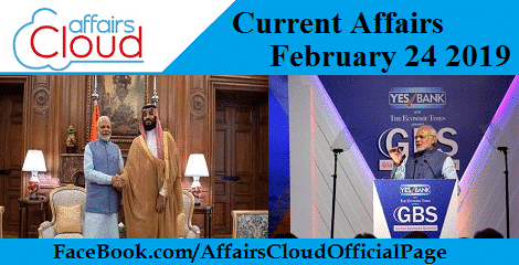 Current Affairs February 24 2019