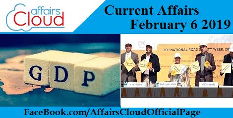 Current Affairs February 6 2019