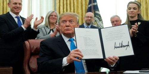 Donald Trump signs SPD-4 to create US Space Force
