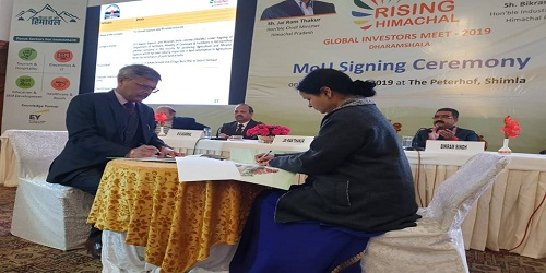 FAGMIL signed MoU with HP Government