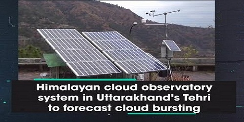 Himalayan Cloud Observatory set up in Tehri